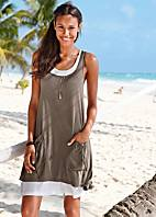 2 in 1 Layered Beach Dress