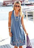 Pleated Beach Dress
