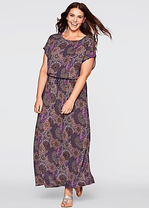 Maxi dresses for plus size uk