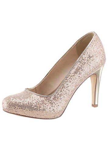tamaris glittering high heels curvissa. Black Bedroom Furniture Sets. Home Design Ideas