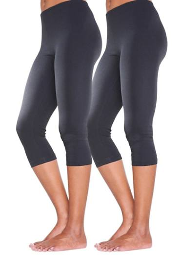 Pack of 2 Cropped Leggings