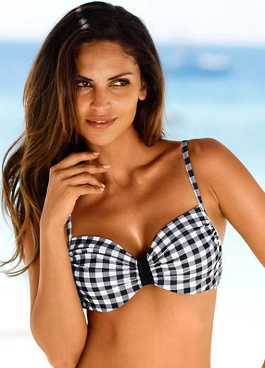 Underwired Check Tankini
