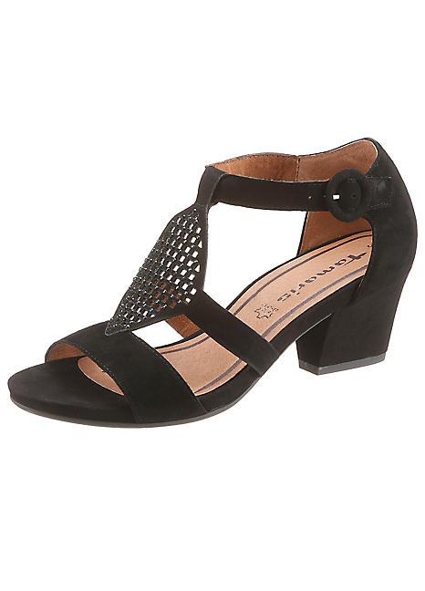 tamaris high heel sandals curvissa. Black Bedroom Furniture Sets. Home Design Ideas