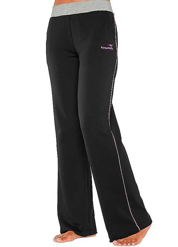 Plus Size KangaROOS Leisure Pants in Black size 2628