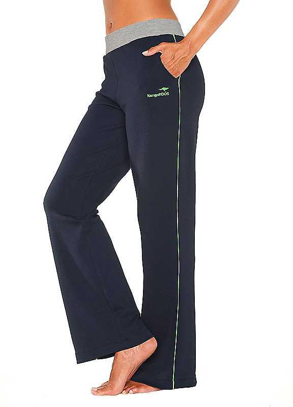Plus Size KangaROOS Leisure Pants in Navy size 2628