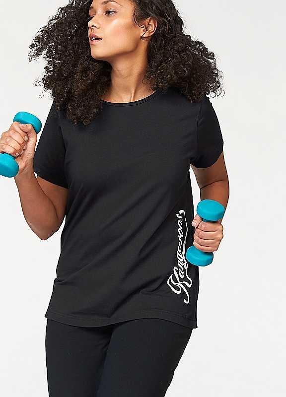 Plus Size KangaROOS TShirt in Black size 2628