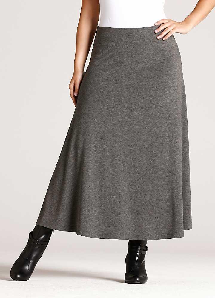 maxi jersey skirt by bonprix curvissa